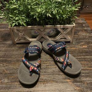 Skechers Reggae - Zig Swag Women's Sandals Size 9